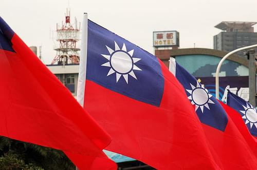 Taiwán, banderas