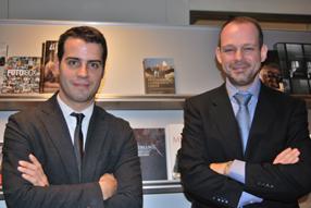 Heriberto Arújo y Juan Pablo Cardenal
