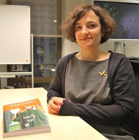 Ana Ballesteros autora de Pakistán