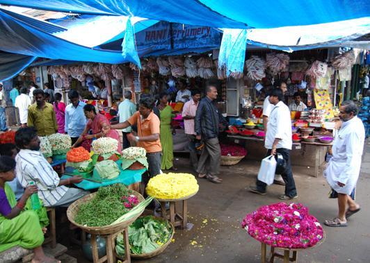 Inflación mercado India