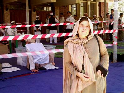 Pilar Requena Afganistán