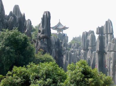 Yunnan bosque de piedra