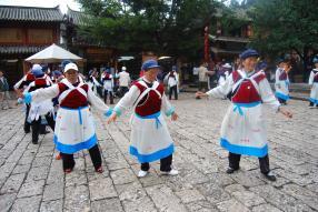 Lijiang mujeres naxi