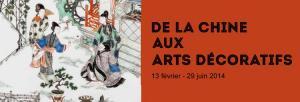 Exposición: De la Chine aux Arts Décoratifs