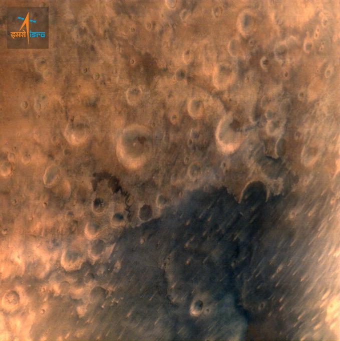 Superficie de Marte sonda Mangalyaan