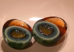 Huevos centenarios cocina china