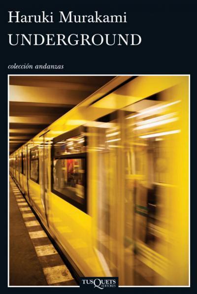 Libro: Underground Murakami
