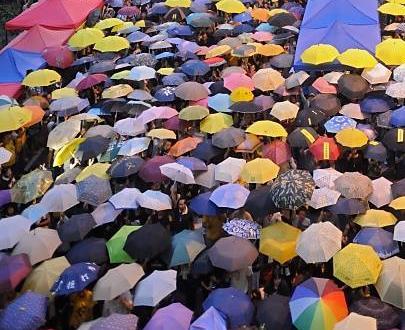 Occupy Central manifestaci�n